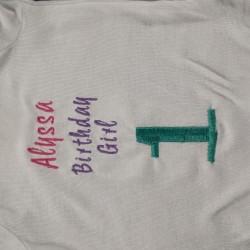 1st Bday Shirt