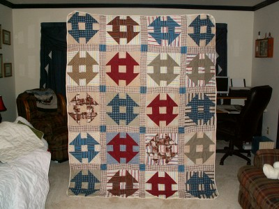 Old repaired Quilt
