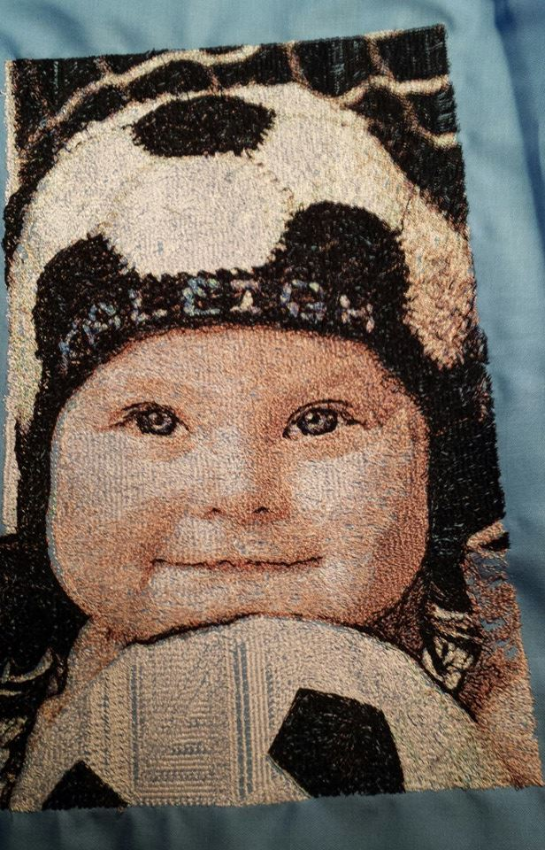 Kaleigh's Picture Embroidery