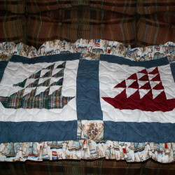 Sailboat Shirts Pillow Shams
