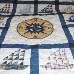 Sailboat Quilt - Man's Dress Shirts